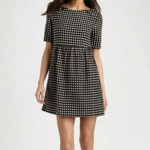Ace & Jig black and white dot dress